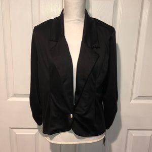 Silhouette nyc black blazer